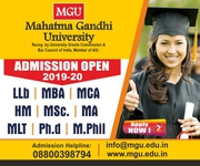 MGU University Admission open in Meghalaya