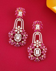 Buy Latest Diamond Earrings Online Collection for Girls at Lowest Cost